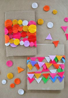 Mini felt garland |  - Tinyme Blog