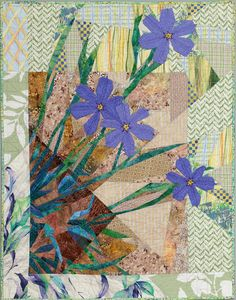 Blue-eyed Grass by Ruth McDowell