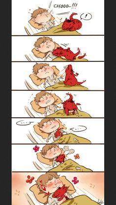 Smauglock snuggles! AW THATS ADORABLE!!! <== Even if Smaug did snuggle with Bilbo, he would most likely crush Bilbo.