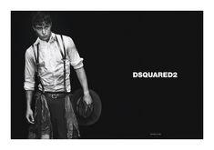Adrien Sahores, Bo Develius & Francisco Lachowski by Mert & Marcus for Dsquared² Fall 2011 Campaign image dsquaredcampaign3
