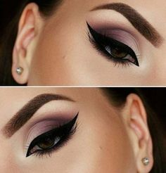 Smokey makeup for the shape of your eyes