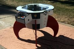 Missile Command Cocktail Table