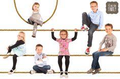 Picture Your Family #familieportret #fotoshoot #fotografie #kinderen #touw