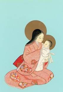 virgen maria japonesa - Buscar con Google