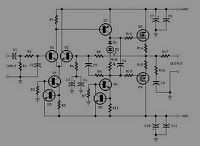 Circuit Schematic Diagram 60w Amplifier Mosfet Irfp240 Irfp9240 Amplifier Audio Amplifier Circuit