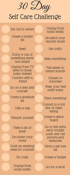 30 Day Self Care Challenge Self care challenge to bring you happiness and love. … 30 Day Self Care Challenge Self care challenge to bring you happiness and love. Take control and change the way you view yourself by taking this self care challenge. Self Confidence Tips, Self Care Activities, Self Care Routine, Self Improvement, Self Help, How To Fall Asleep, No Time For Me, Personal Development, Self Love