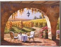 Vineyard for Two at CanvasGalleryArt.com