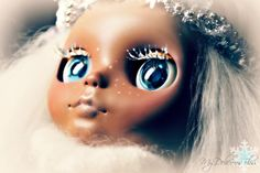 Winter, Series of Season Beautiful Brown Blythe for Adoption by My Delicious Bliss
