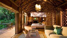 The exclusive Lake Manyara Tree Lodge is located on the southern border of Lake Manyara National Park, Tanzania. This safari lodge boasts 10 luxury tree houses. Tanzania, Kenya, Africa Safari Lodge, Tiny House, African Interior Design, Treehouse Hotel, Luxury Tents, Luxury Lodges, Arusha