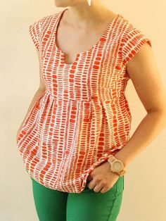 Summersville Washi top by madebyrae, via Flickr