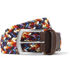 Woven Belt. Anderson's.