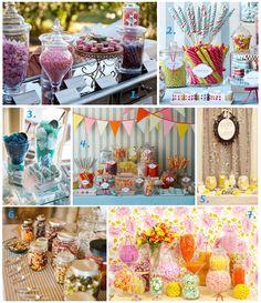 Wedding Candy Bar Inspiration | Fearless Brides