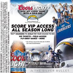 Coors Light and the San Diego Chargers - VIP Access Contest