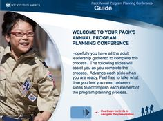Pack Annual Program Planning Conference Guide