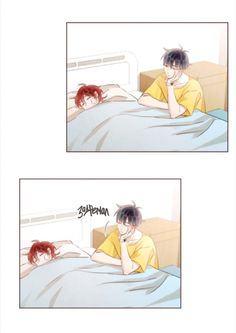 Manhwa, Bl Webtoon, Tied Up, Twins, Boys, Red, Ideas, Amor, Friendship