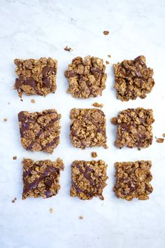 Peanut Butter Chocolate Cereal Bars - made with three simple ingredients: whole grain cereal, peanut butter + a hint of maple syrup. A great healthy dessert for kids + adults alike! Healthy Desserts For Kids, Great Desserts, Dessert Recipes, Bar Recipes, Healthy Sweets, Healthy Snacks, Breakfast Recipes, Chocolate Cereal, Chocolate Peanut Butter