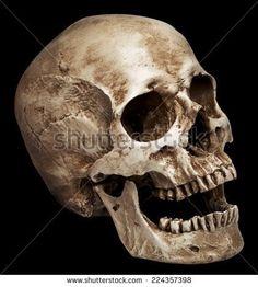 Felpa Nero Teschio Croce Gothic /& skullmotiv modello Cross Skulls Wings