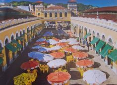 Mercado de Florianopolis, Brasil