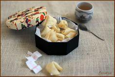 Galletas de la suerte - Lucky chinese cookies - No quieres caldo?... Pues toma 2 tazas