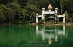 Meditation garden, Lake Shrine Temple,Self-Realization Fellowship -Pacific Palisades, Ca