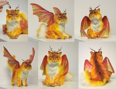 DeviantArt: More Like SOLD Caterpillar Dragon by Wood-Splitter-Lee