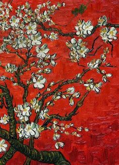 Vincent Van Gogh from Almond Blossom Series (detail)