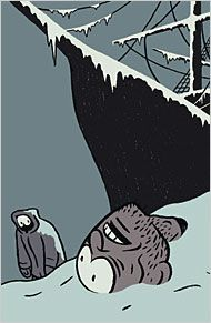 Illustration from the NYT book review of The Terror by Dan Simmons.