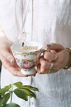 """Cheeky Teacup - with """"booze"""", not to give it away or anything."""