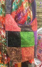 FAB NEW PATCHWORK EARTHY SHOULDER BAG BOHO HIPPIE GYPSY BOHEMIAN ETHNIC PURSE