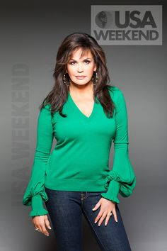 Marie Osmond USA Weekend Magazine