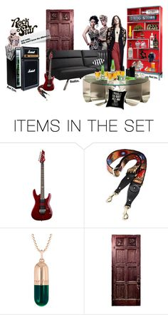 """""""The life of the everyday rocker"""" by britt-catlynne-weatherall ❤ liked on Polyvore featuring art"""
