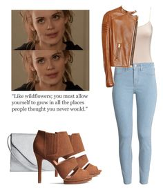 """Lydia Martin - tw / teen wolf"" by shadyannon ❤ liked on Polyvore featuring H&M and Tom Ford"