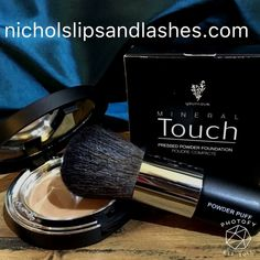 Younique Touch Mineral Pressed Powder Foundation Very light with great coverage!! Contact me for color match or go to my web page to order!! Younique Makeup