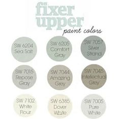 Image result for joanna gaines favorite paint colors