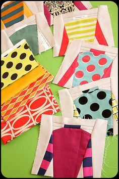 soooo cute... #block #quilt #paperpiecing