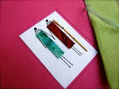 Empowered Men for Empowered Women of Kenya Blank Notecards Set of 3 (Kibera Paper)