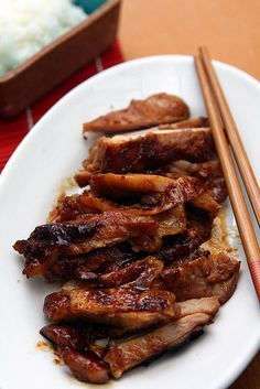 Chicken Teriyaki by David Lebovitz as adapted from Japanese Farm Food by Nancy Singleton #Chicken_Terikyaki