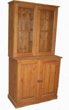 A beautiful 2 door Welsh dresser from www.pinewelshdresser.co.uk
