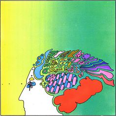 Peter Max - Thought
