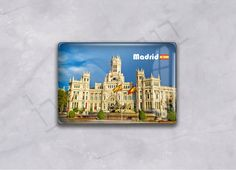 Spain, Madrid Series - fridge magnets, epoxy magnets, customized orders from Besgen Incorporate