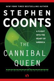 The Cannibal Queen | http://paperloveanddreams.com/book/406023542/the-cannibal-queen | The New York Times�bestselling icon of the techno-aviation thriller takes to the skies in this memoir of a great American adventure in an open-cockpit biplane.  It was a bird�s-eye view of America�and the trip of a lifetime for author Stephen Coonts and his fourteen-year-old son. But even for Coonts, who had clocked 1,600 hours as a naval aviator and was the recipient of the Distinguished Flying Cross…