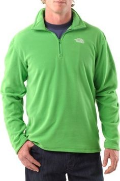 The North Face TKA 100 Microvelour Glacier Quarter-Zip Pullover  - P.S. this comes in several colors