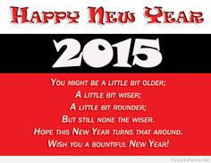 Wishes New Year sms 2015 image