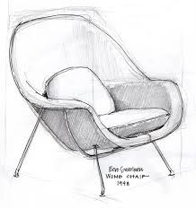 Chair Sketch Betty Jean Collection Bespoke