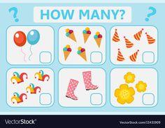 Children educational logic game mathematical vector image on VectorStock