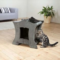 Dionis Cat Tower With Natural Sisal Sisal, Tower, Blanket, Cats, Nature, Engagement, Rings, Furniture, Dog Kennels