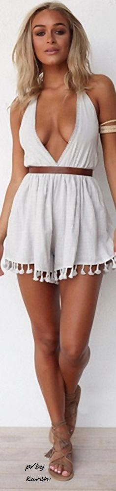 white dress @roressclothes closet ideas women fashion outfit clothing style apparel