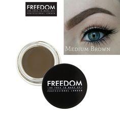 Freedom Makeup Eyebrow Definition - Pro Brow Pomade Medium Brown