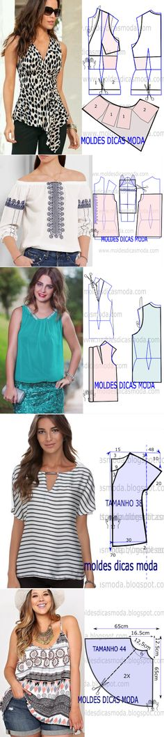 Sewing Blouse...♥ Deniz ♥