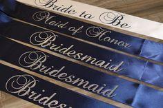 Bachelorette sash bridal shower sash bridal by myeverydayparty, $70.00